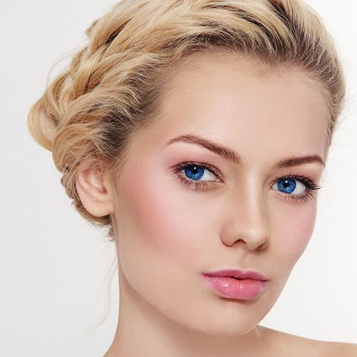 Dezentes Make-Up für den Tag